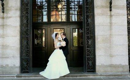 Korean-American wedding