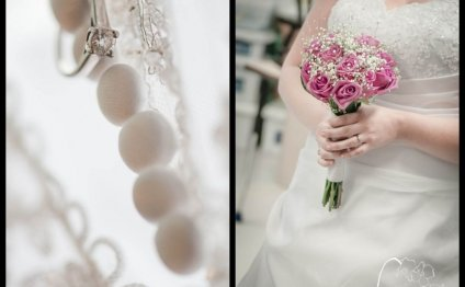For more clean, simple wedding