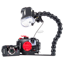 Backscatter Olympus TG-4 Camera,  Housing and Sea & water YS-03 Strobe Package