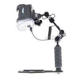 Backscatter water & water YS-D2 or YS-01 Strobe and Ultralight Arm Package creator