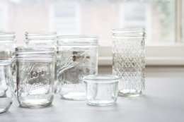 Glass Jars For photographer Props