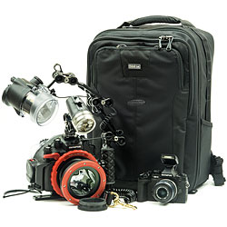 Olympus OM-D E-M1 Camera, PT-EP11 Underwater Housing, water & water YS-D2, Sola 2000 & Travel Case Package
