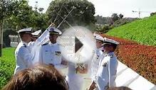 Navy Sword Arch Ceremony at San Diego LDS Temple