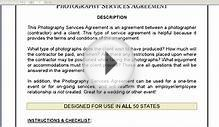 Photography Services Agreement