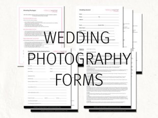 wedding photography purchase contract